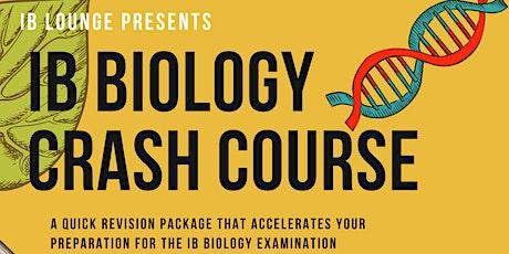 HL Biology Crash Course - Online/F2F tickets