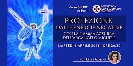 Protezione dalle energie negative con la Fiamma Azzurra dell'Arc. Michele biglietti