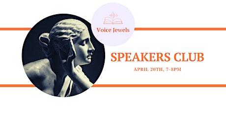 Voice Jewels Speakers Club tickets
