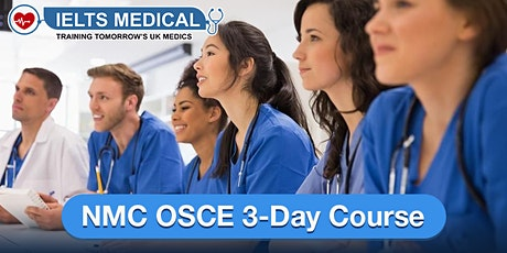 NMC OSCE Preparation Training Centre training - 3-day course (September) tickets