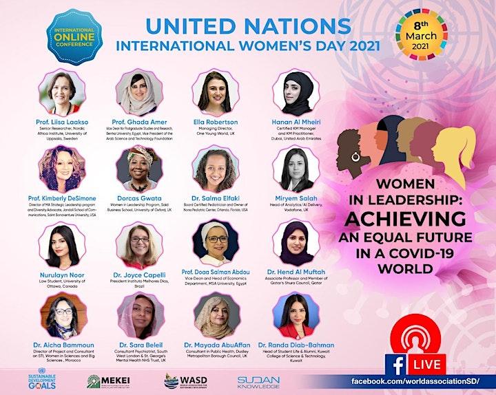 United Nations International Women's Day 2021 image