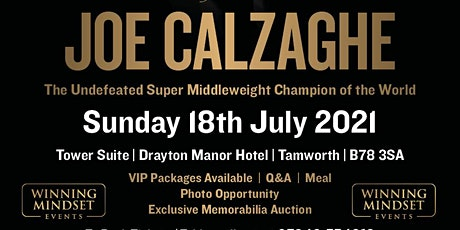 An Afternoon with Joe Calzaghe tickets