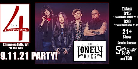 The Lonely Ones formally Bobaflex at Joel's 4Corners Chippewa Falls! tickets