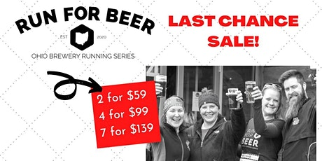 2021 Ohio Brewery Running Series Kickoff Special tickets