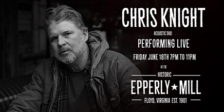 An Evening with Chris Knight Acoustic Duo tickets