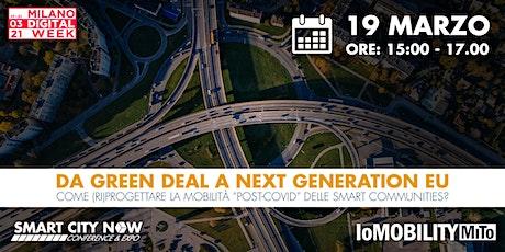 DA GREEN DEAL A NEXT GENERATION EU biglietti