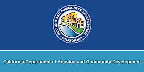 HCD's  CDBG Economic Development Program: Opportunities and Possibilities tickets