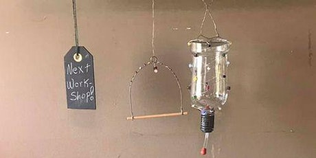 Upcycled Hummingbird Feeder and Swing tickets