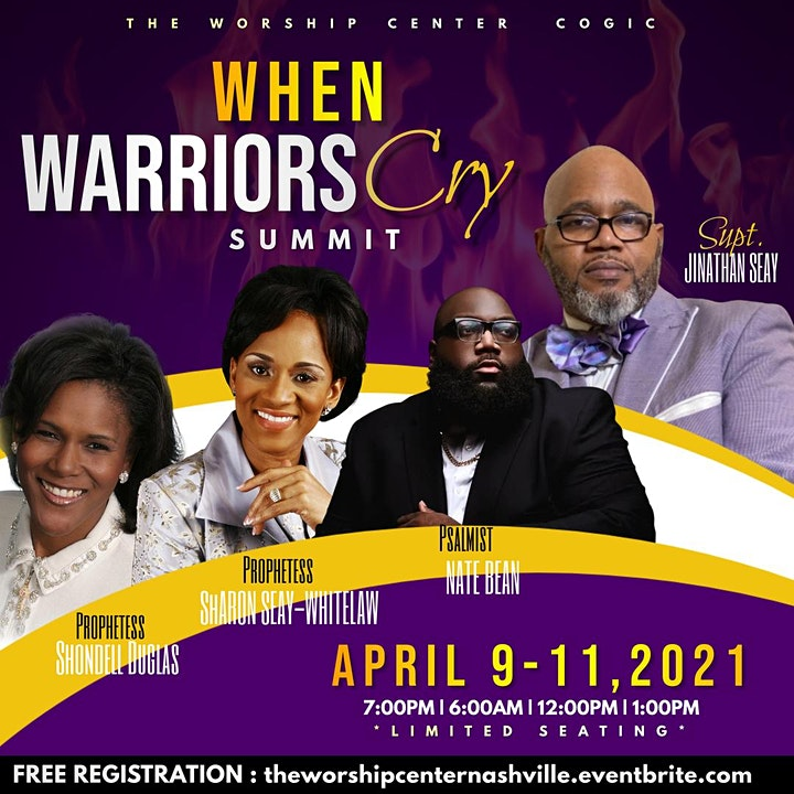 When Warriors Cry Summit 2021 image