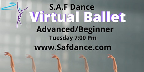 Saf Ballet class advanced beginner tickets