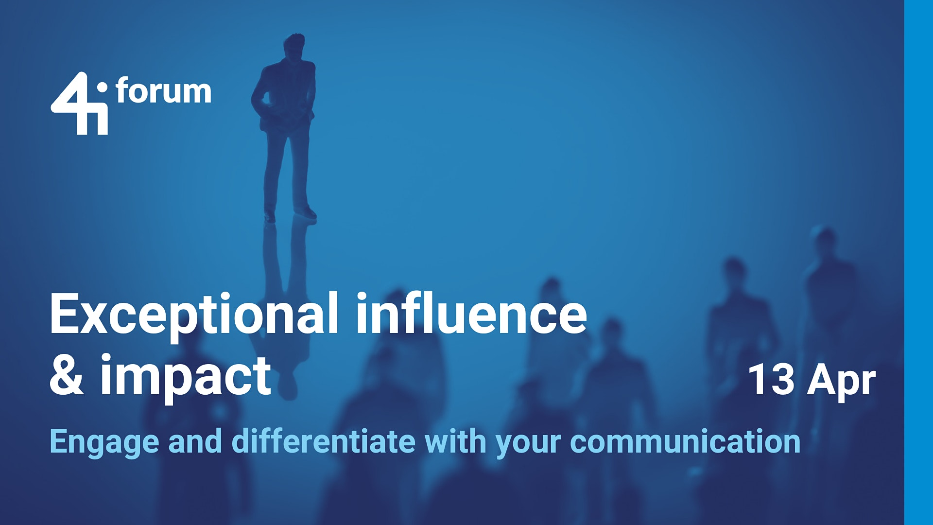 4iforum: Exceptional Influence & Impact (April 2021)