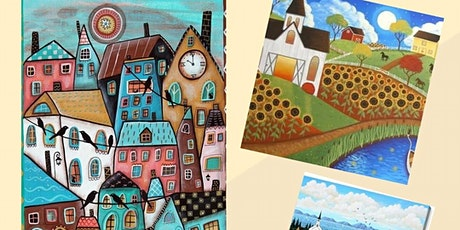 Acrylic Painting - Folk Art with Kelly Maw tickets