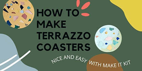 Complimentary Online Terrazzo Coasters Workshop tickets