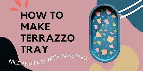 Online Terrazzo Tray Workshop tickets