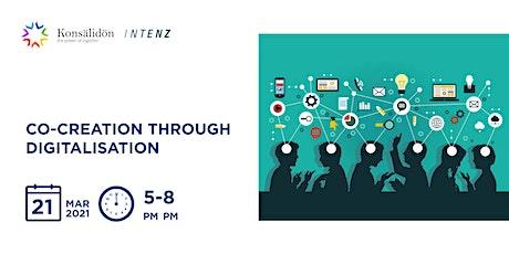 Workshop - Co-creation through digitalisation biglietti