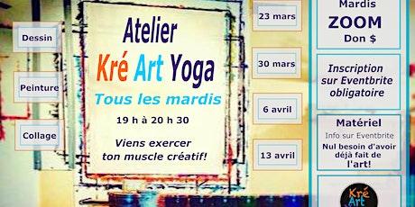 Atelier Kré Art Yoga  - Communauté de Kréation! billets