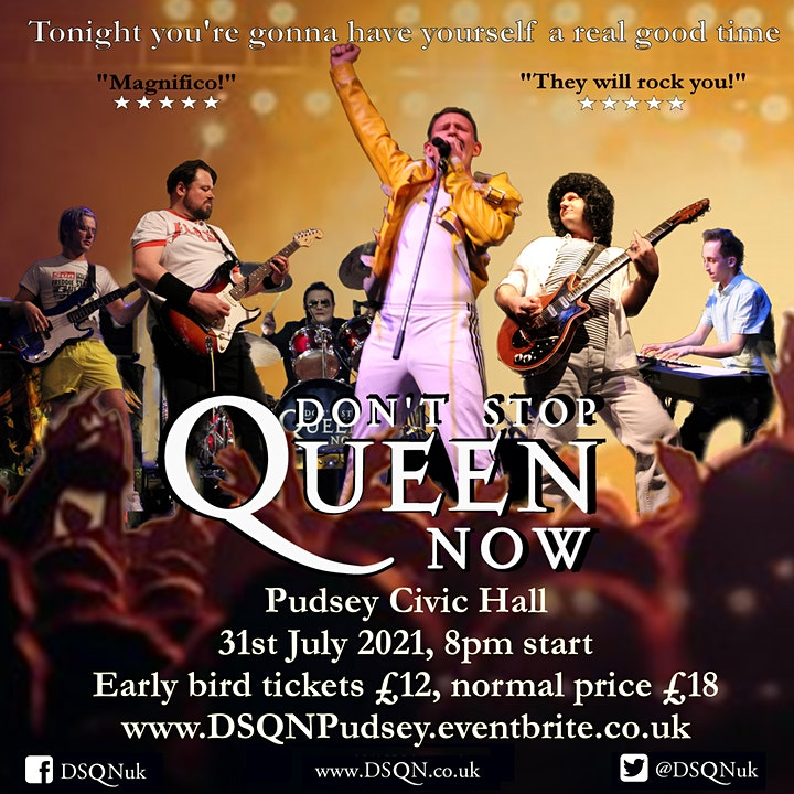Don't Stop Queen Now: Live at Pudsey Civic Hall image