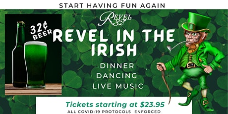 The Revel 32° Experience Week 2 - Revel in the Irish. tickets