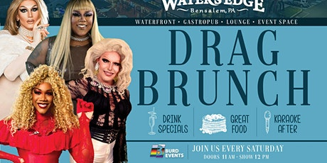 Drag Brunch at Water's Edge tickets