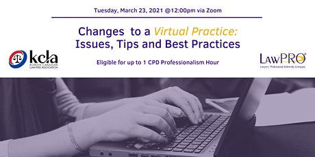 Changes to a Virtual Practice: Issues, Tips and Best Practices biglietti