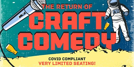 Craft Comedy OUTDOORS at Federation Brewing tickets