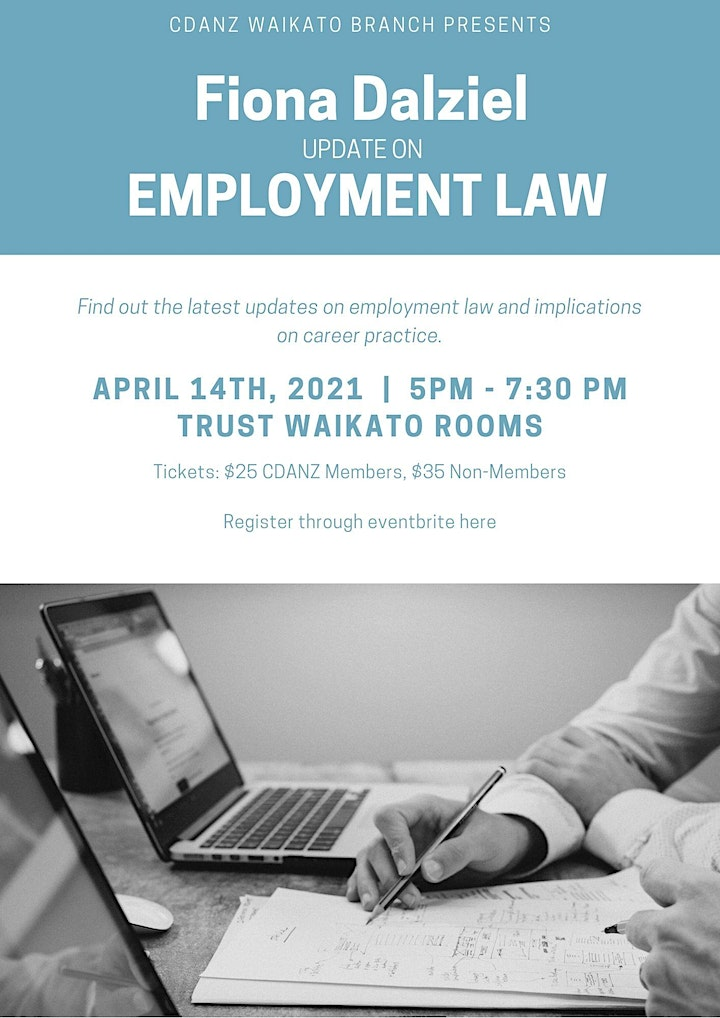 Update on Employment Law - Professional Development Event image