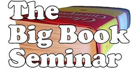 Big Book Seminar 2022 tickets