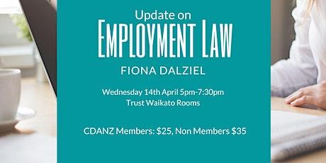 Update on Employment Law - Professional Development Event tickets