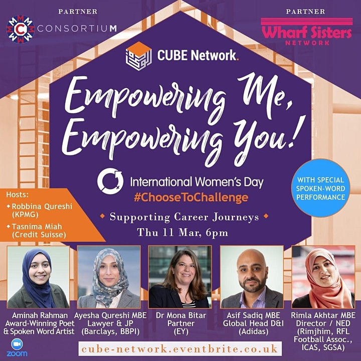 Empowering Me, Empowering You: International Women's Day image
