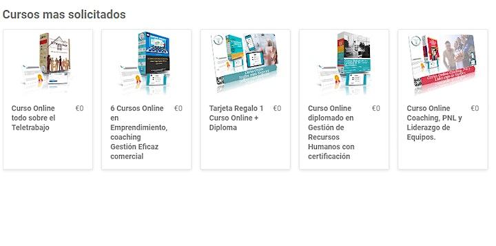 Imagen de 6 Cursos Online en Emprendimiento, coaching Gestión Eficaz comercial