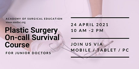 Plastic Surgery On-call Survival Course tickets