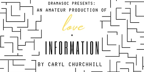 Love + Information tickets