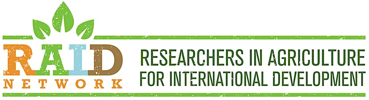 #RAIDsocialhour International Agricultural Research in African Nations image