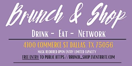 Brunch & Shop Pop-Up Shop tickets