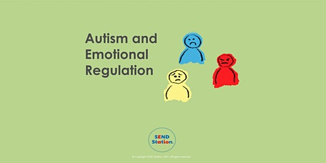 Autism - Understanding Emotional Regulation tickets