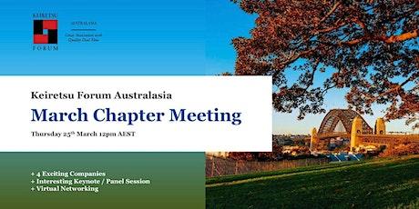 Keiretsu Forum Australasia - March 2021 Chapter Meeting tickets