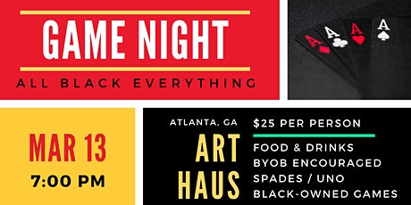 Onyx Oasis Game Night - All Black Everything tickets