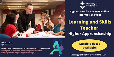 Level 5 Learning and Skills Teacher Apprenticeship: Information Event tickets