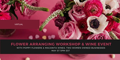 LADYDRINKS MOTHER'S DAY EDITION: VIRTUAL FLOWER ARRANGING WORKSHOP & WINE tickets