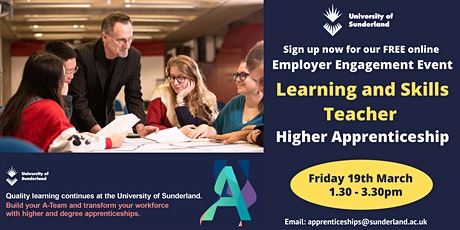 Level 5 Learning and Skills Teacher Apprenticeship Employer Event tickets