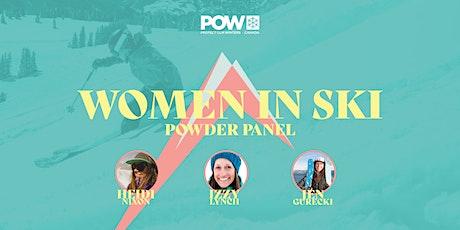 Women in Ski: Powder Panel tickets