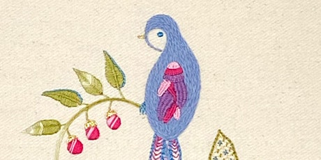 Surface Embroidery: Bluebird (Two-Session Class) tickets
