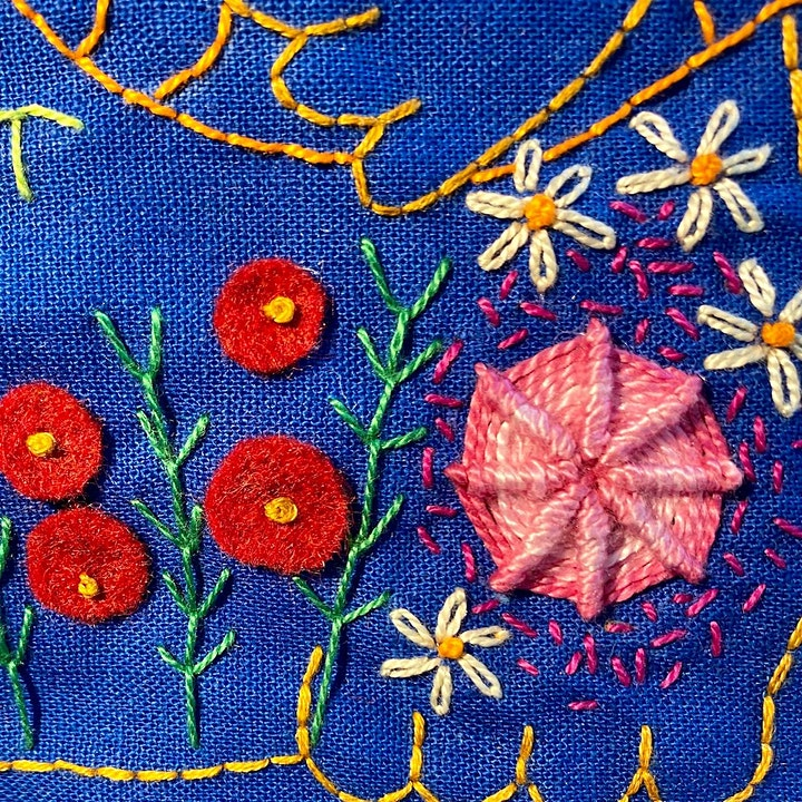 Beginners Embroidery Sampler image