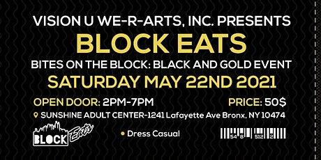 Bites On The Block Black & Gold Event tickets