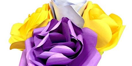 School Holiday Fun:  Paper Flower Workshop tickets