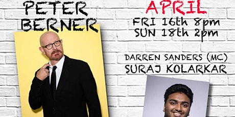Sunday Comedy at The Entrance with Peter Berner and Suraj Kolarkar tickets
