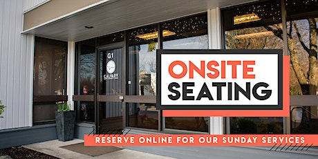 3/14  Sunday Morning - Onsite Seating tickets