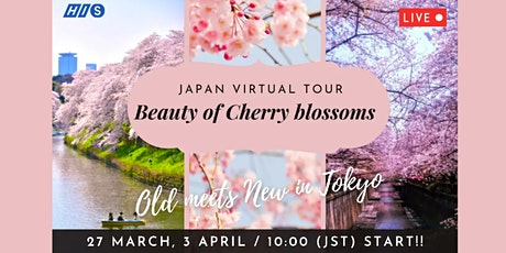 Japan - Virtual Cherry Blossom viewing in Tokyo tickets