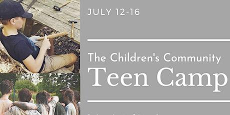 TCC Teen Camp tickets