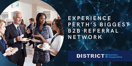 Experience Perth's Biggest B2B Referral Network - Wed 24th Mar tickets